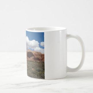 moab utah arch basic white mug