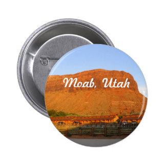 Moab Utah Pinback Button