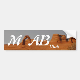 Moab, Utah Bumper Sticker