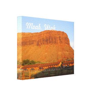 Moab Utah Canvas Prints