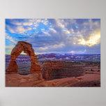 Moab Utah - Delicate arch - Poster