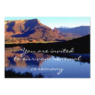 """Moab Utah 5"""" X 7"""" Invitation Card"""