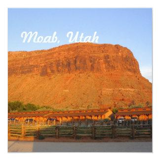 Moab, Utah Personalized Announcement