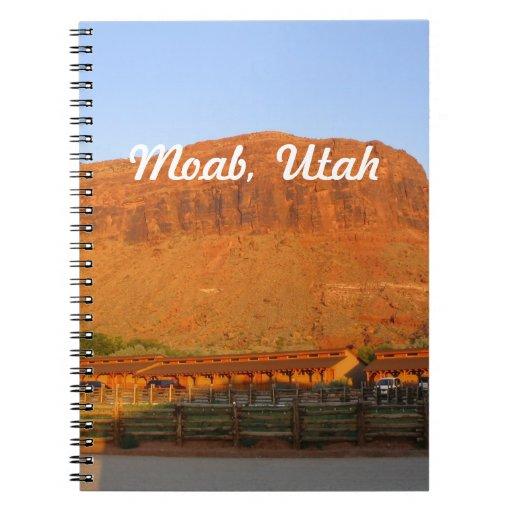 Moab, Utah Note Books