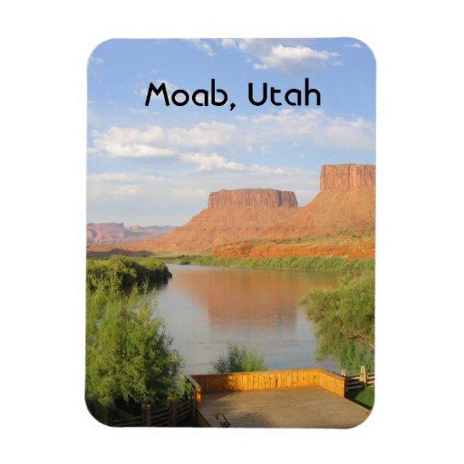 Moab, Utah Flexible Magnet