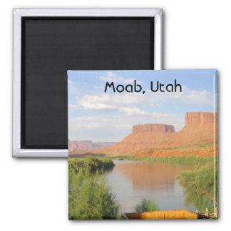 Moab, Utah Square Magnet