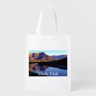 Moab Utah Reusable Grocery Bags
