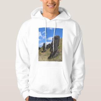 Moai on Easter Island Hoodie