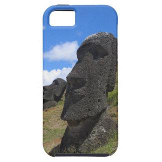 Moai on Easter Island iPhone 5 Case