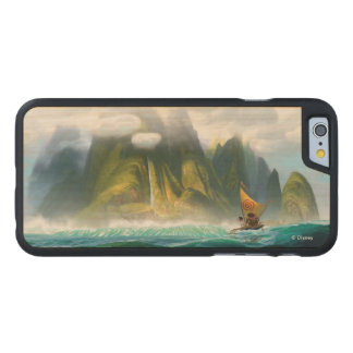 Moana | Discover Oceania Carved® Maple iPhone 6 Slim Case