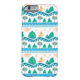 Moana | Land And Sea Are One - Pattern Barely There iPhone 6 Case