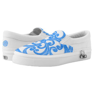 Moana (Polynesian word for the ocean) design Printed Shoes