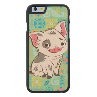 Moana | Pua - I'm No Bacon Carved® Maple iPhone 6 Slim Case