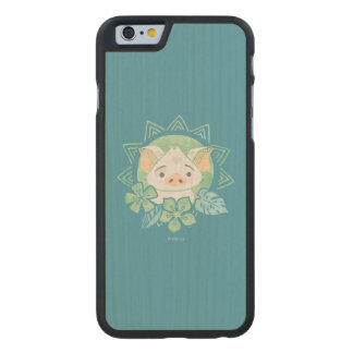 Moana | Pua - Not For Eating Carved® Maple iPhone 6 Slim Case