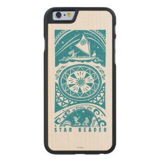 Moana | Star Reader Carved® Maple iPhone 6 Slim Case