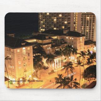 Moana Surfrider Hotel Waikiki Hawaii Mouse Mat