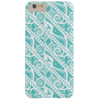 Moana | Teal Aztec Pattern Barely There iPhone 6 Plus Case