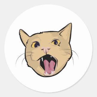 MOAR cat Stickers
