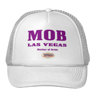 MOB Mother of Bride Las Vegas Cap Trucker Hats