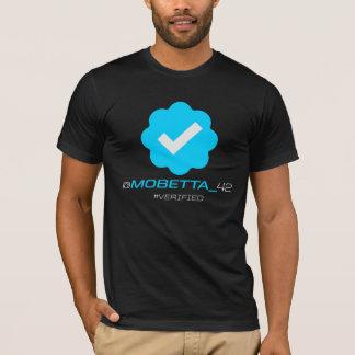 @MoBetta_42 - Verified - Black T-Shirt