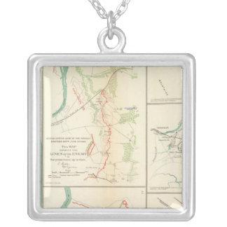 Mobile, Ala rebel defenses Silver Plated Necklace
