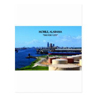 MOBILE, ALABAMA - The Port City Postcard