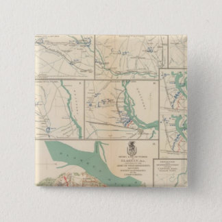 Mobile, Blakely, Messinger's Ferry-Canton 15 Cm Square Badge