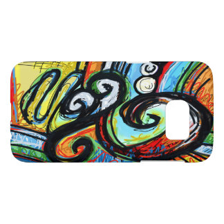 Mobile case Abstract Spiral