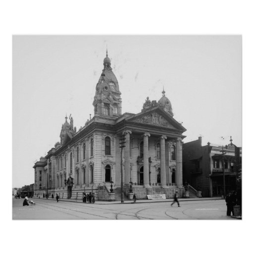 Mobile County Courthouse Print