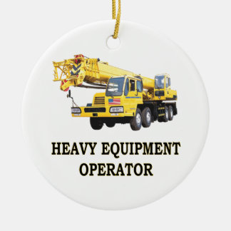 MOBILE CRANE CHRISTMAS ORNAMENT