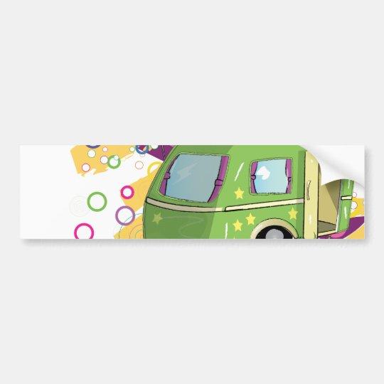 Mobile Home Bumper Sticker