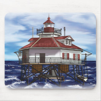 Mobile Middle Bay lighthouse Mouse Pad