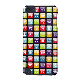 Mobile Phone App Icons Pattern iPod Touch (5th Generation) Case