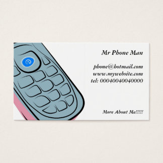 Text message business cards business card printing zazzle mobile phone business card colourmoves
