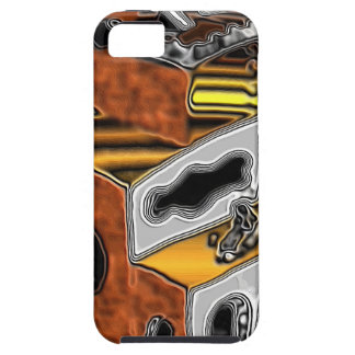 Mobile Phone Case with Surreal Art