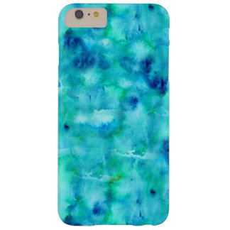 Mobile phone covering in ocean colors barely there iPhone 6 plus case
