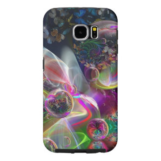 Mobile Phone Covers:  Abstract Bubbles Samsung Galaxy S6 Cases