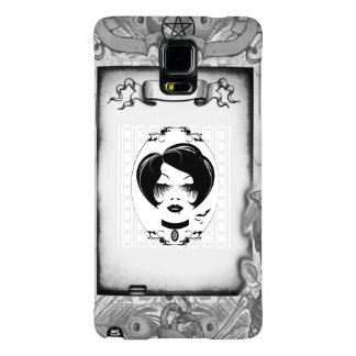 Mobile Phone Covers: Gothic Miss Galaxy Note 4 Case