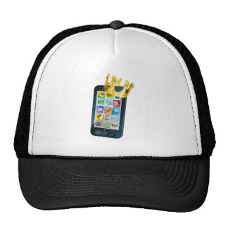 Mobile Phone King Hats