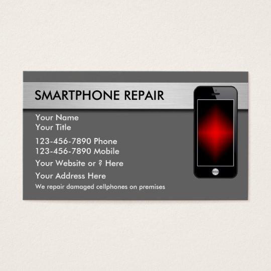 Mobile Phone Repair Business Cards