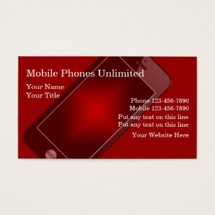 Smartphone business cards business card printing zazzle uk mobile phones business cards colourmoves