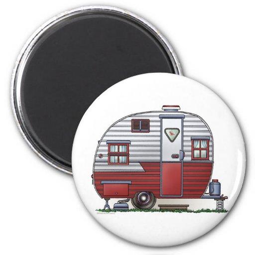 Mobile Scout Camper Magnet