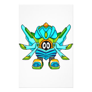 Mobile Warrior Jagdwoo Personalized Stationery