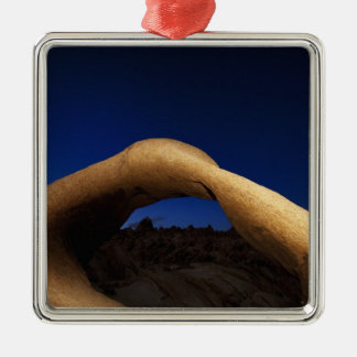 Mobius Arch illuminated in the Alabama Hills Christmas Ornament