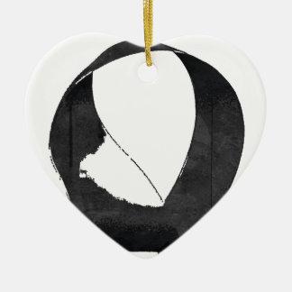 Mobius Enso Symbol Christmas Ornament
