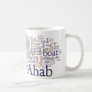 Moby Dick Mug - last chapters in blues and browns