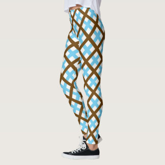 Mocha Ice Neoplaid Leggings