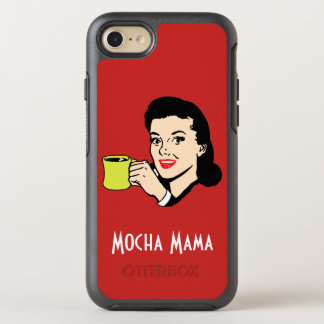 Mocha Mama Vintage Red OtterBox Symmetry iPhone 8/7 Case