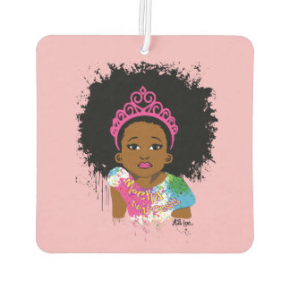 Mocha Princess Air Freshener