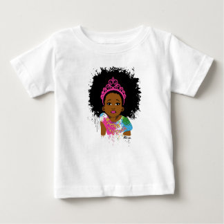 Mocha Princess Baby T-Shirt